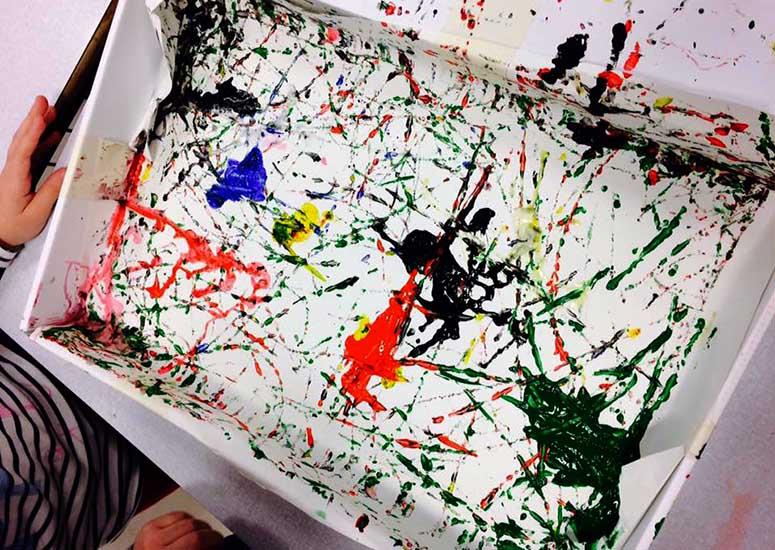 Pollock e lo sgocciolamento