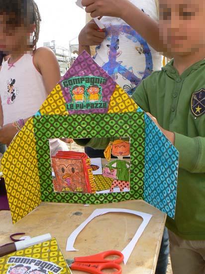 Kamishibai realizzato per bambin