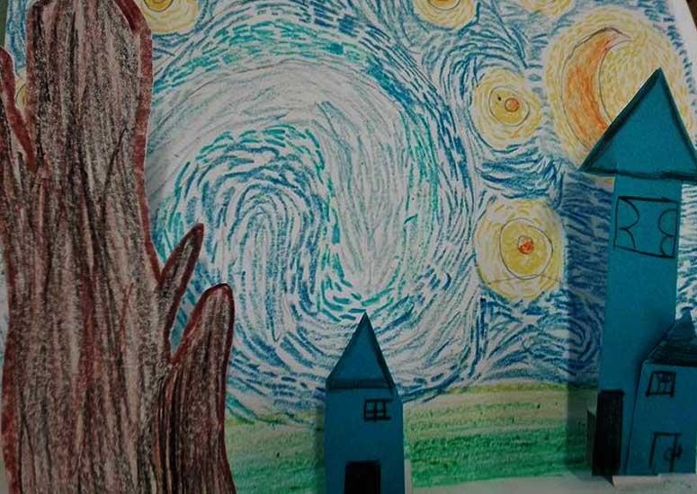 Van Gogh - Notte estellata